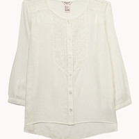 Embroidered Peasant Top (Kids)