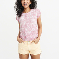 Womens Relaxed Crew Tee | Womens Tops | Abercrombie.com