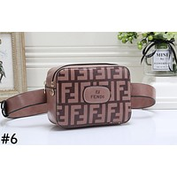 Fendi new fashion trend ladies shoulder messenger bag #6