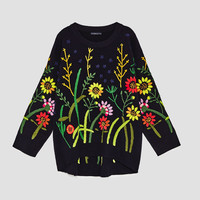 EMBROIDERED SWEATERDETAILS