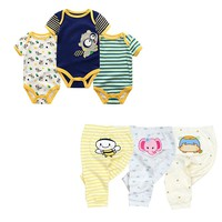fashion baby 2018 summer Newborn Baby Boy girl Clothes Tops+Pants Outfits Clothes Baby Clothing Set