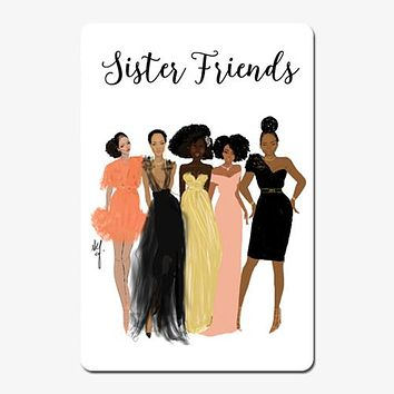 Sister Friends Magnet