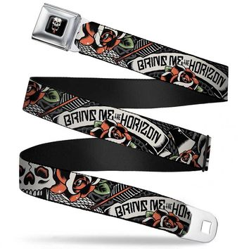 "Bring me the Horizon Snake SeatMen's Belts Men's Belts (24-38"")"