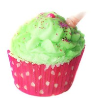 Watermelon Cocoa Cupcake bath melts