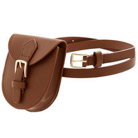 ModCloth Festival Back Bay Bicycle Club Belt in Brown