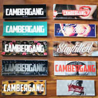 Cambergang Bumper Stickers