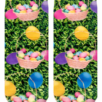 Easter Eggs Ankle Socks