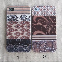 Tribal Hybrid Impact lovers Case for iphone 4/4s