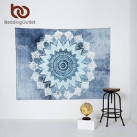 Indian Style Tapestry Elephant Printed ~Wall Hanging Rectangle Decorative Tapestries ~130cmx150cm 153cmx203cm Sheet Tapestry 012