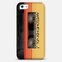 Awesome Mix Vol. 1 iPhone 5 case by Nicklas Gustafsson   Casetify