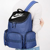 NIKE New Fashion Letter Hook Print Travel High Capacity Couple Backpack Bag
