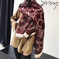 Perfect Ferragamo Women Wool Scarf Shawl Scarf