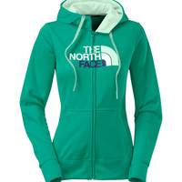 The North Face Half Dome Fave Full Zip Hoodie in Kokomo Green for Women CW61-DFN