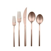 Mepra Due Bronzo 5-Piece Flatware Set