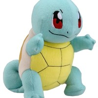 """Takaratomy New Pokemon N-10 X and Y Squirtle/Zenigame 8"""" Plush Doll"""