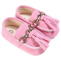 Baby Shoes Boat Style Baby Moccasins Toddler PU Leather Soft Sole Shoes For Girls Kids born Toddlers First Walkers Sneakers
