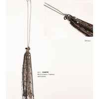 Tassel Necklace - Collana con pendente a forma di nappa