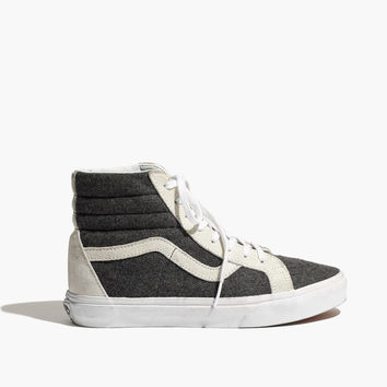 Vans® & Madewell Classic SK8-Hi High-Tops in Wool