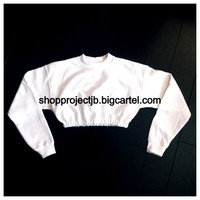 ProjectJB — Cropped Summer Sweat Top