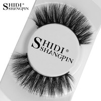 1 Pair 100% Real 3D Mink Lashes Soft Natural False Eyelashes Mink Eyelashes Makeup Long Eye Lashes Eyelash Extension cilios 3d