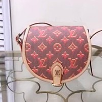 LV Women's Jacquard Canvas Shoulder Bag Crossbody Bag