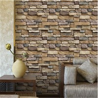 3D Wall Brick Stickers DIY Wall Adhesive Tile Decals Wallpaper Art Murals for Home Kitchen Bathroom Decoration Wall Sticker