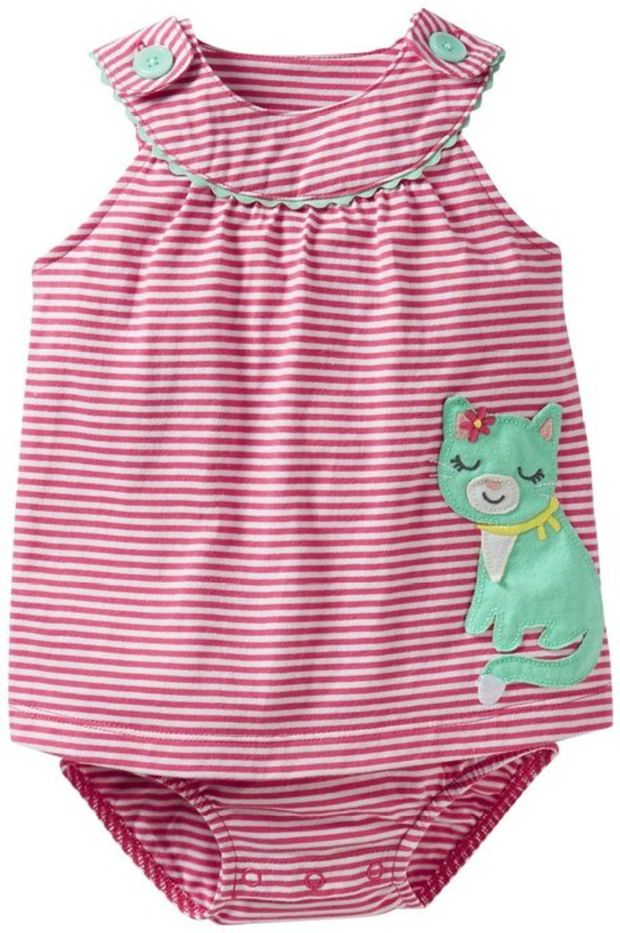 Elsa Wilcox Infant Short Sleeve Jumpsuit Baby Boys Girls Cute Playsuit
