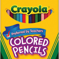 crayola colored pencils-36/pkg long
