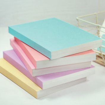 Simple Pastel Notebook