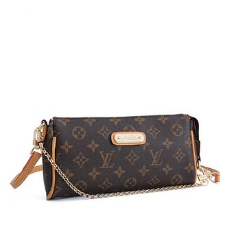 LV Louis Vuitton Fashion Leather Chain Crossbody Shoulder Bag Satchel