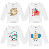 DMDM PIG kids fashion cotton t shirt teen kids baby minions boys t-shirts children clothes for girls boys clothing tees tops