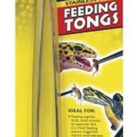 Zoo Med Stainless Steel Feeding Tongs 10-Inch