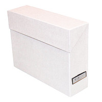 Bigso White Lovisa Vertical File Box