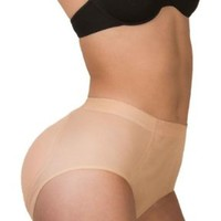8 Of Hearts Women's Shaper Panty with Sillicone Butt Pads Booty Padded Panty