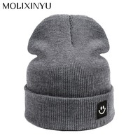 MOLIXINYU 2017 New Fashion Children Cap For Girls Cap Skullies Beanies Baby Cap For Boys Hat Kids Winter Baby Hats For Children
