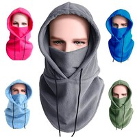 Adjustable Fleece Thermal Balaclava Face Mask