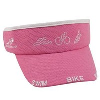Headsweats Women's Super Visor Swim Bike Run Hat