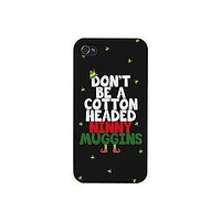 Cotton Headed Ninny Muggins Cute Christmas Phone Case Great Gift Idea