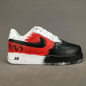 Women's and men's nike air force 1 cheap nike shoes 098