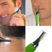 Handsome Men Body Nose Nasal Ears Eyebrow Facial Hair Clipper Trimmer Shaver = 1645833156