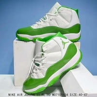Air Jordan 11 Retro High White Green - Best Deal Online