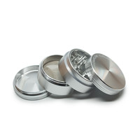 Sabertooth Precision Grinder - Four Pieces -  Aluminum - 2.5 Inches
