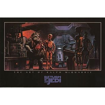 Star Wars Return of the Jedi Ralph McQuarrie Poster 24x36