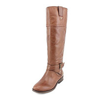 Marc Fisher Amber Womens Size 8 Brown Leather Fashion Knee-High Boots