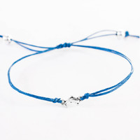Dolphin Bracelet made with Cotton Cord
