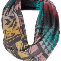 Ombre Aztec Snood - Scarves  - Accessories