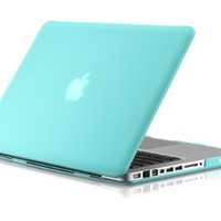 """Osaka FROST series Turquoise (special blue) Rubberized Case / Cover for 13"""" A1278 Aluminum Unibody MacBook Pro (Black keys, 13.3-inch diagonal screen), 2-day 30% off"""