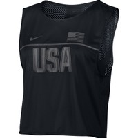 Nike Women's Dry Team USA Graphic Running Tank Top