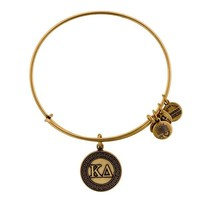 Alex and Ani Kappa Delta Charm Bangle - Rafaelian Gold Finish