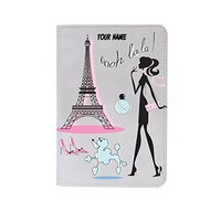 Paris Effel Tower Leather Business ID Passport Holder Protector Cover _SUPERTRAMPshop